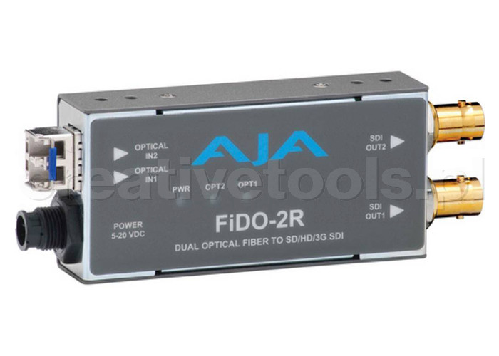 AJA FIDO-2R z zasilaczem