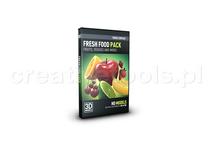Video Copilot Fresh Food Pack