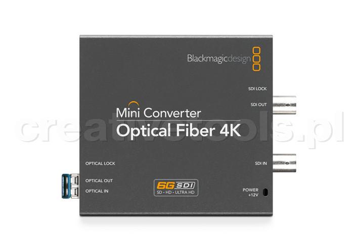 Blackmagic Design Mini Converter Optical Fiber 12G