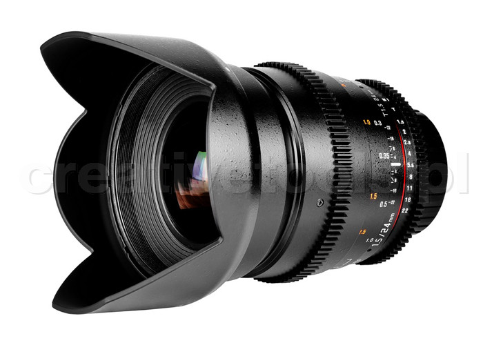 Samyang VDSLR II 24mm T1.5 Micro 4/3 (MFT)