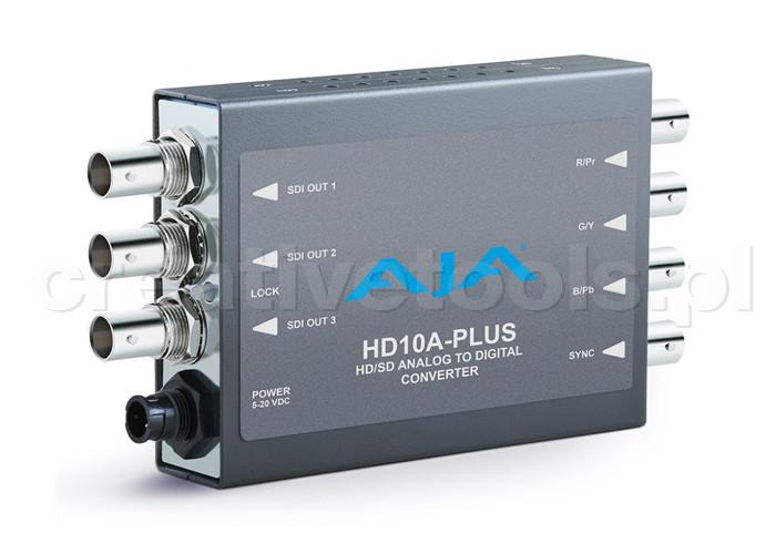 AJA HD10A PLUS z zasilaczem