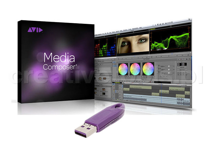 Avid Media Composer Perpetual License (Box+Dongle)