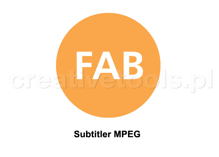 FAB FT-SUBTITLER MPEG