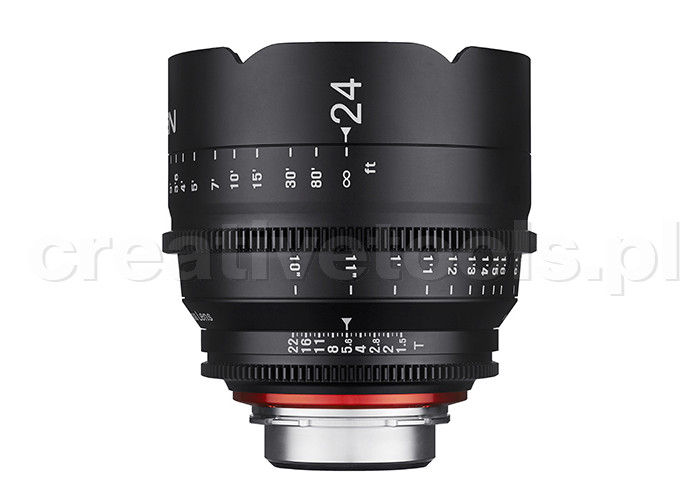 Samyang Xeen 24mm T1,5  Nikon F