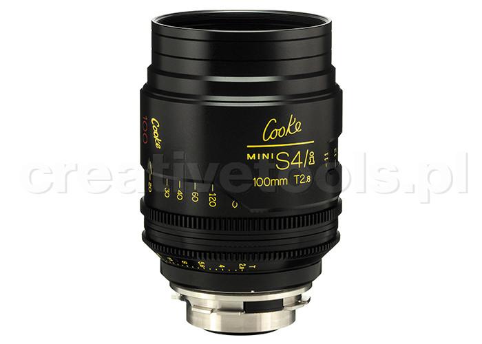 Cooke miniS4/i Prime Lenses T2.8 100mm