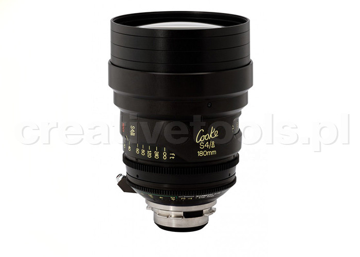 Cooke S4/i Prime & Zoom Lenses T2 180mm