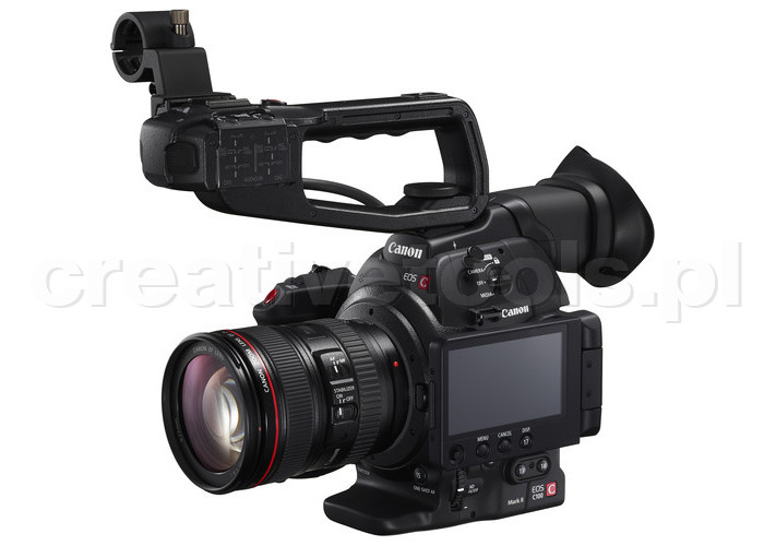 Canon Cinema EOS C100 Mark II EF 24-105