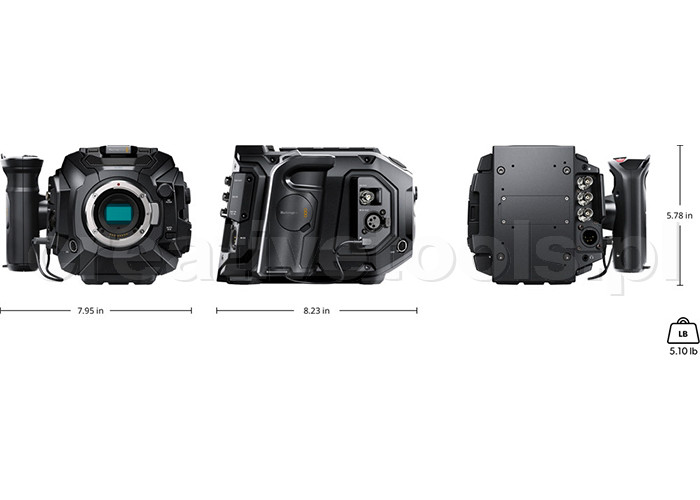 Blackmagic Design Ursa Mini Pro 4.6K EF