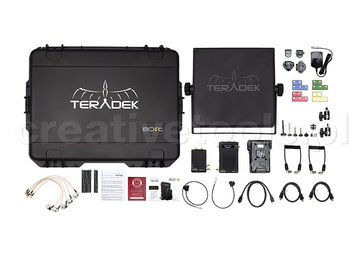 Teradek Bolt 1000 3G-SDI/HDMI V-Mount Deluxe Kit
