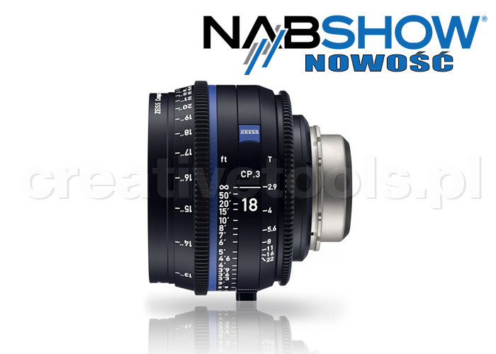 Zeiss Compact Prime CP.3 18/T2,9 T* - PL