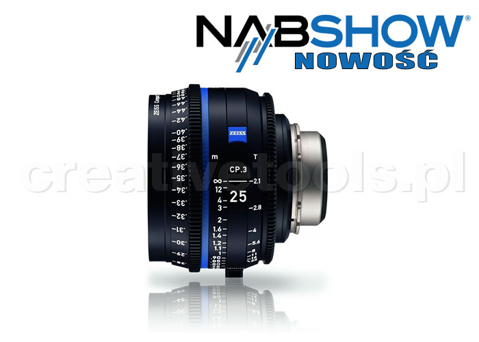 Zeiss Compact Prime CP.3 25/T2,1 T* - PL