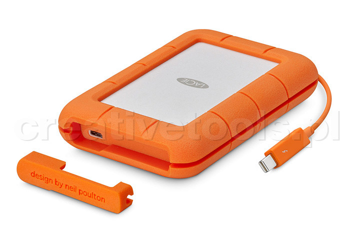 LaCie Rugged Thunderbolt USB-C 4TB (STFS4000800)