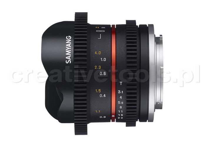Samyang CINE 8mm T3,1 Sony E
