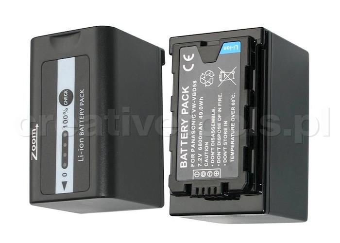 ZOOM VW-VBD58 6800mAh (Akumulator)