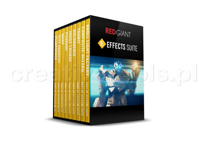 Red Giant Software Effects Suite 11.1