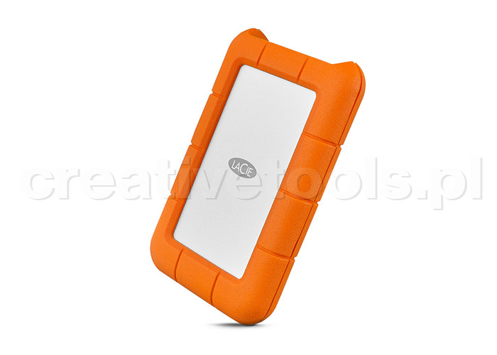 LaCie Rugged USB-C Mobile Drive 4TB (STFR4000800)
