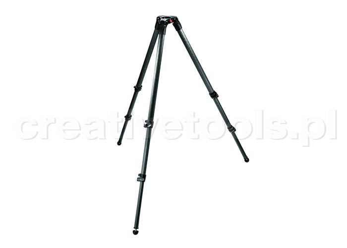 Manfrotto Statyw wideo Carbon, gniazdo 75mm (535)