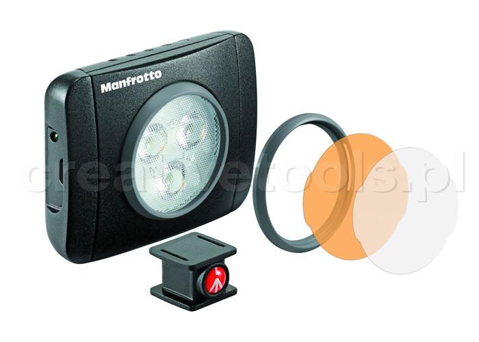 Manfrotto LUMIMUSE Lampa 3 Led (MLUMIEPL-BK)
