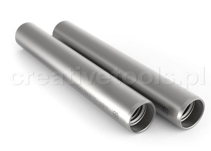 8Sinn 10cm 15MM Silver Rods 2pcs