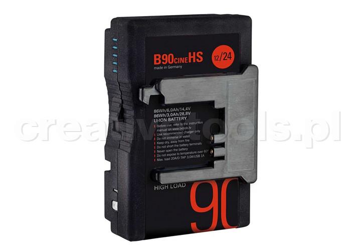 Bebob B90Cine HS B-Mount Hotswap Battery 14,4V / 28,8V / 86Wh