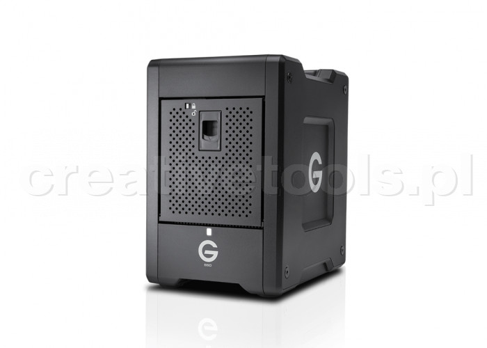 G-Technology G-SPEED Shuttle 4Bay Thunderbolt 3 SSD 16000GB Black EMEA (0G10194)