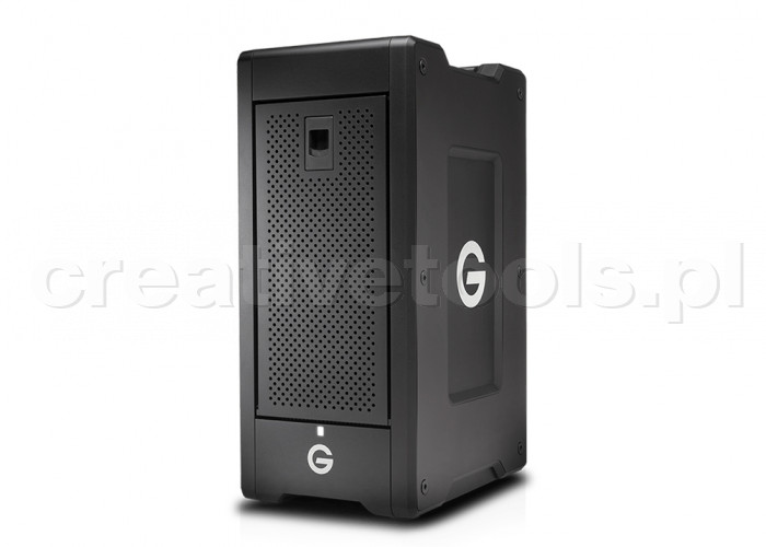 G-Technology G-SPEED Shuttle XL Thunderbolt 3 72TB w/ev Series Bay Black EMEA 5Yr (0G05958)