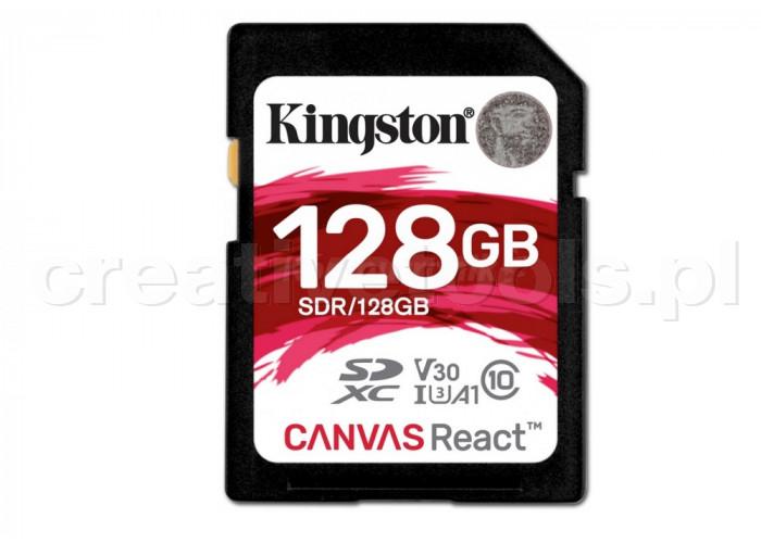 Kingston SDXC Canvas React 128GB (SDR128GB)