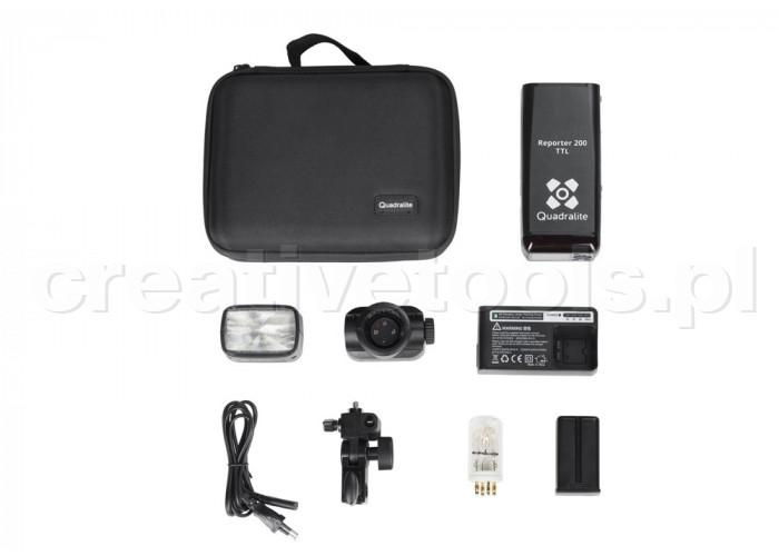 Quadralite Reporter 200 TTL Kit