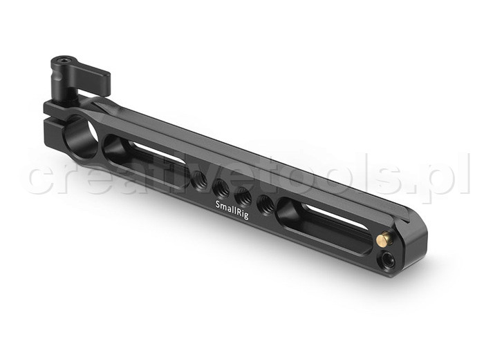 SmallRig (1856) Safety NATO Rail with 15mm Rod Clamp