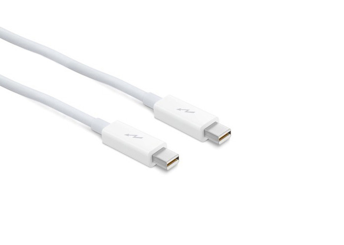 Apple Thunderbolt - Kabel 2m, biały