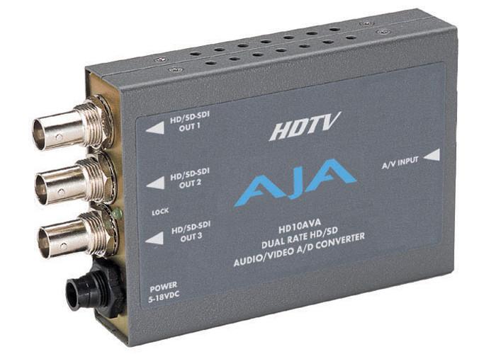 AJA HD10AVA z zasilaczem