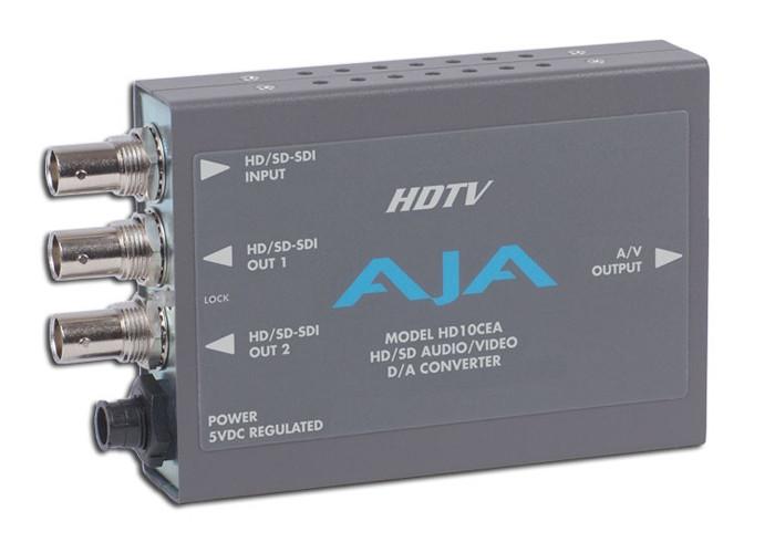 AJA HD10CEA z zasilaczem