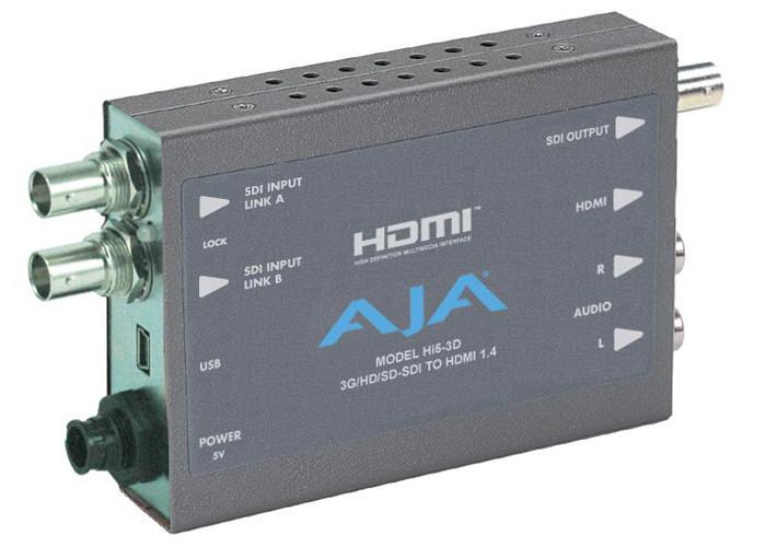 AJA Hi5-3D z zasilaczem