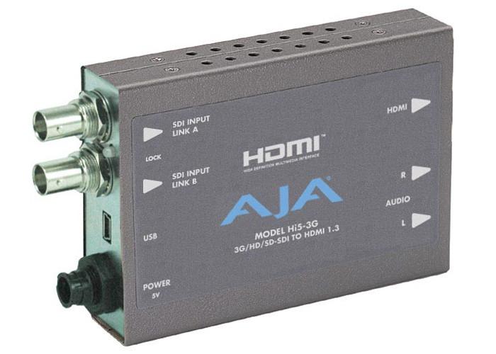 AJA Hi5-3G z zasilaczem