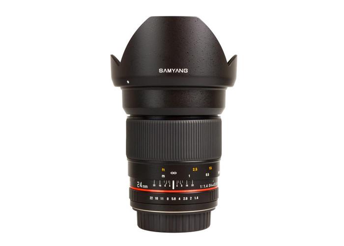 Samyang 24mm f1.4 EF
