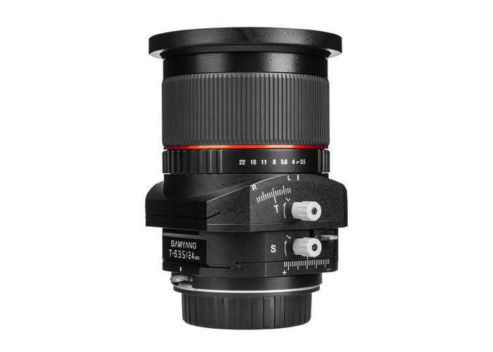 Samyang 24mm F3.5 Tilt-Shift ED AS UMC Wide Angle Canon EF