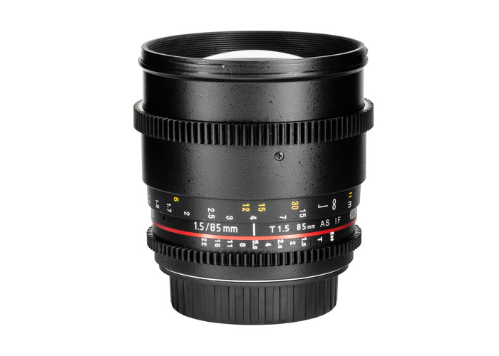 Samyang VDSLR MKII 85mm T1.5 EF Obiektyw Canon