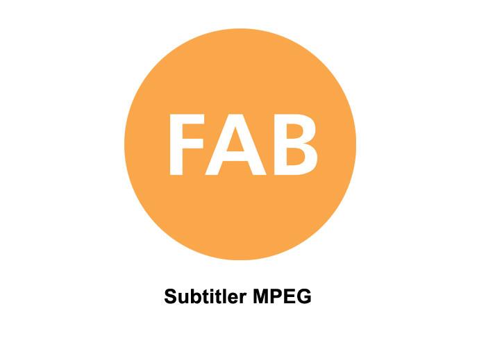 FAB FT-SUBTITLER MPEG