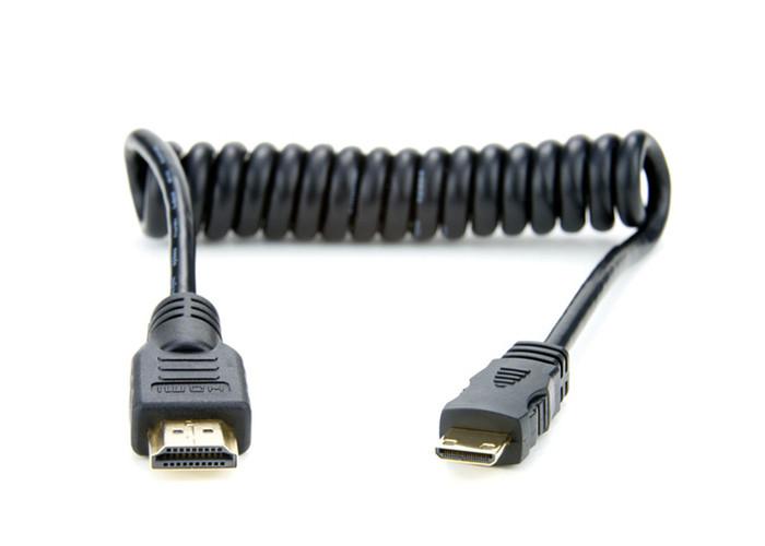 Atomos Mini HDMI/HDMI kabel spiralny 30-45cm