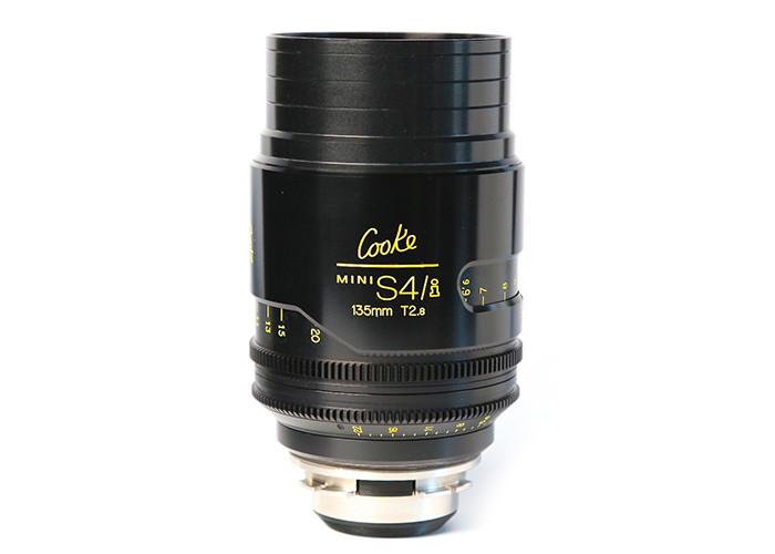 Cooke miniS4/i Prime Lenses T2.8 135mm