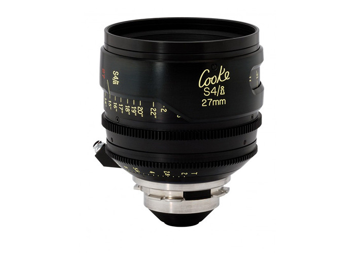 Cooke S4/i Prime & Zoom Lenses T2 27mm