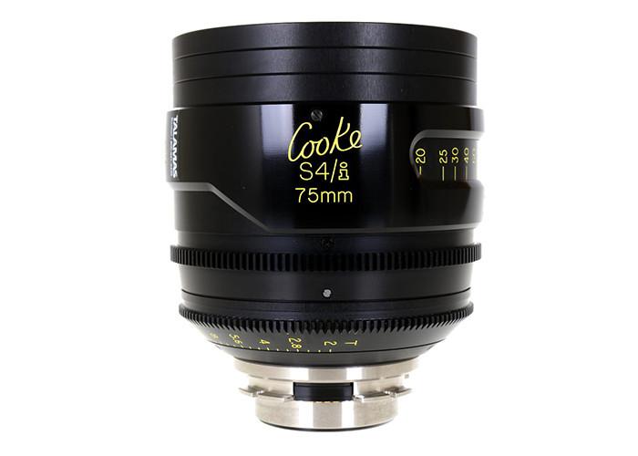 Cooke S4/i Prime & Zoom Lenses T2 75mm