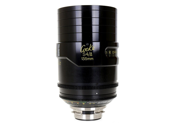 Cooke S4/i Prime & Zoom Lenses T2 135mm
