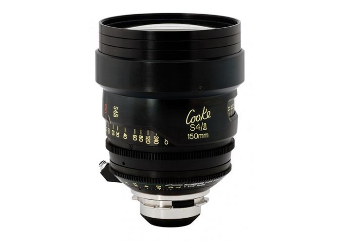 Cooke S4/i Prime & Zoom Lenses T2 150mm