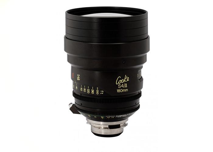 Cooke S4/i Prime & Zoom Lenses T2 180mm