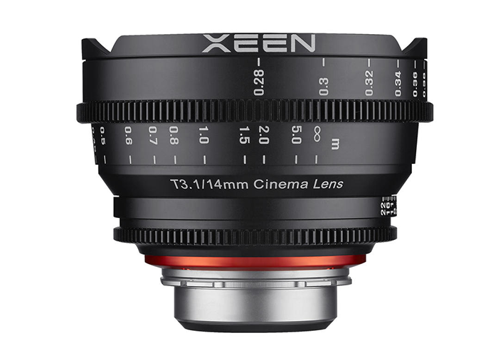 Samyang Xeen 14 mm T 3,1 Nikon F