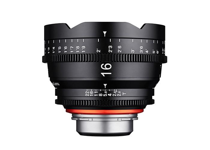 Samyang Xeen 16 mm T 2,6 Micro 4/3 (MFT)