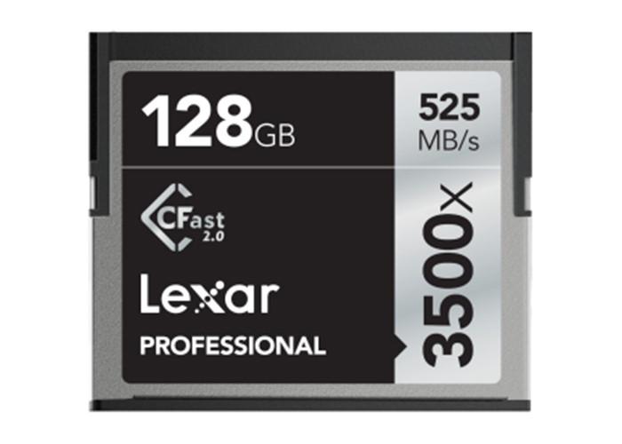 Lexar Pro 3500X CFAST (VPG-130) R525/W445 128GB