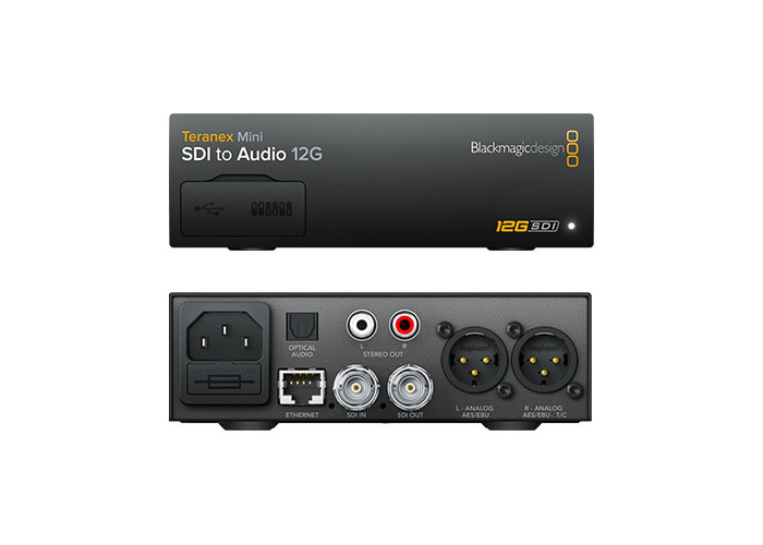 Blackmagic Design Teranex Mini - SDI to Audio 12G