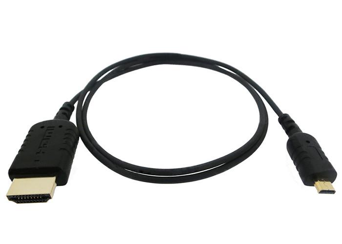 Sanho HyperThin Micro HDMI do HDMI Kabel (0,8 m)